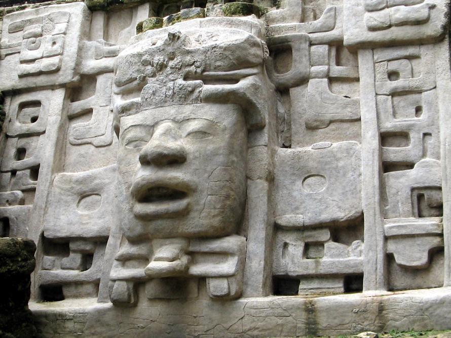 Lamanai Mayan Site