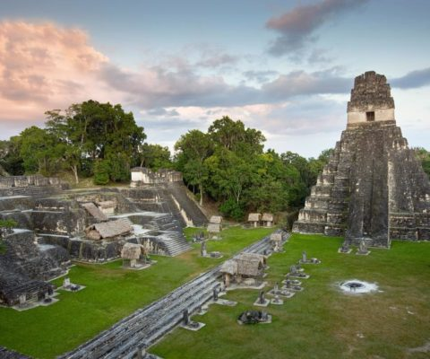 Visiting Tikal from Belize