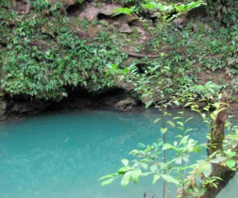 St. Herman's Cave And Inland Blue Hole