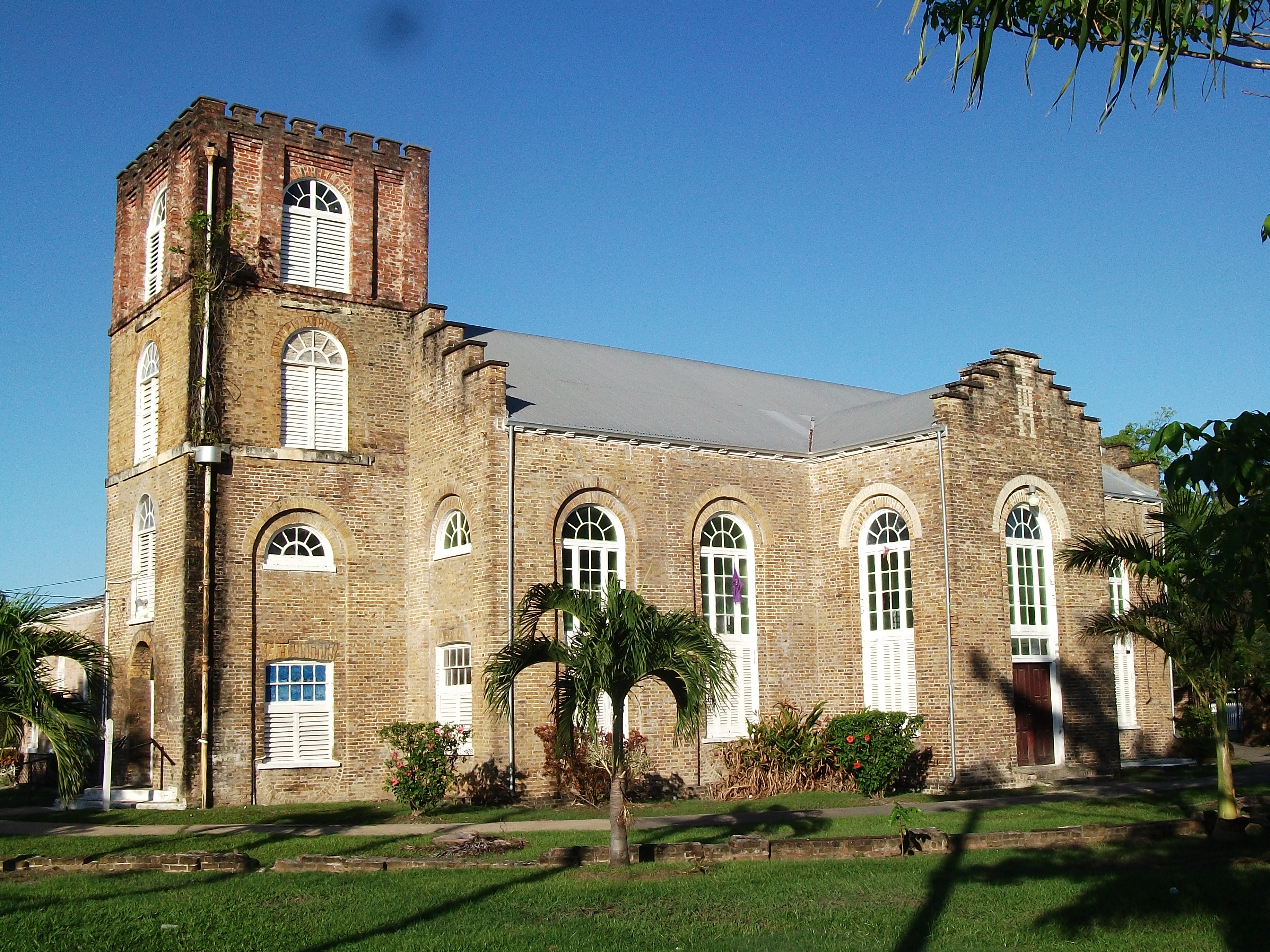 Visit St. John's Cathedral in Belize City