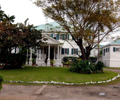 Visit the Government House in Belize City