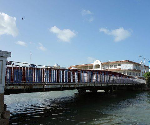 The Swing Bridge in Belize